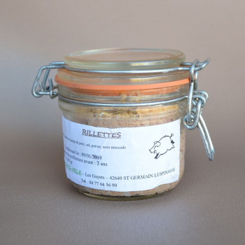 Rillettes en pot 180g